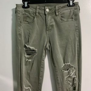 American Eagle Outfitters Pants & Jumpsuits - American Eagle Distressed Skinny Jeans